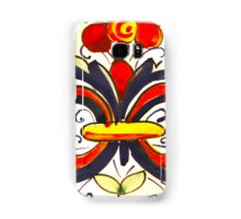Porcelain Flower Decoration Samsung Galaxy Case/Skin