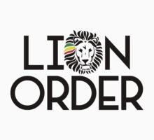 Lion Order VRT BLK Kids Clothes