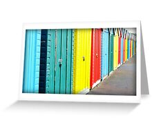 Bournemouth rainbow Greeting Card