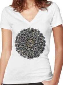 El Dorado I Women's Fitted V-Neck T-Shirt