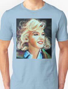 Marilyn Blue Unisex T-Shirt