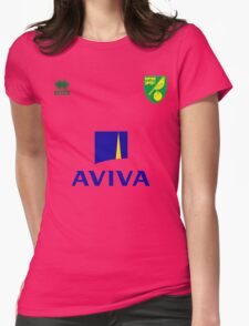 Premier League football - Norwich City F.C. Womens Fitted T-Shirt