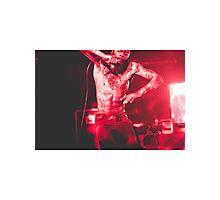 Death Grips, MC Ride Photographic Print