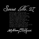 Shakespeare Sonnet No. 27 by Sally McLean