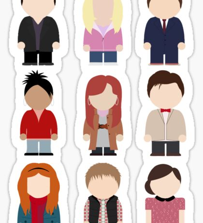Doctor Who T-shirt Sticker