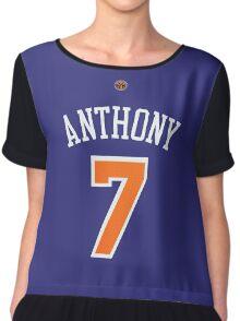 Carmelo Anthony Chiffon Top