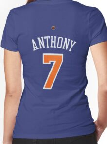 Carmelo Anthony Women's Fitted V-Neck T-Shirt