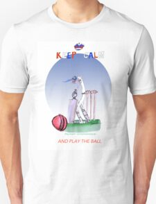 Keep Calm and play the ball - tony fernandes Unisex T-Shirt