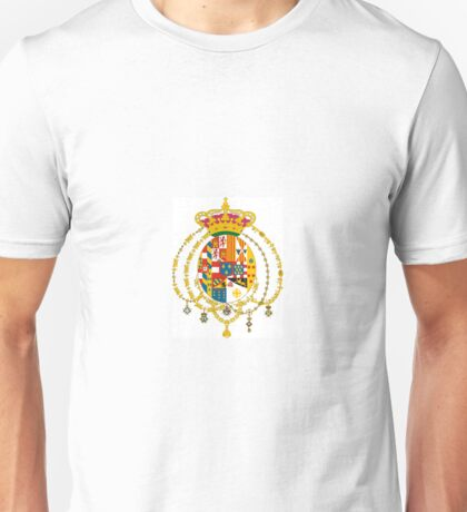 Kingdom of the Two Sicilies - Coat of Arms Unisex T-Shirt