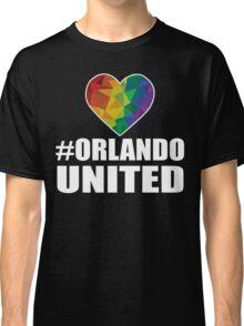 Orlando United T-Shirt - Pray For Orlando Shirt Classic T-Shirt