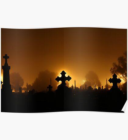 Wangaratta Cemetery Poster