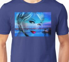 Blue Eyes Blue Unisex T-Shirt