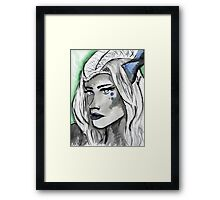 Farel hearts Framed Print