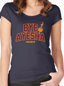 Bye Ayesha! Women's Fitted Scoop T-Shirt
