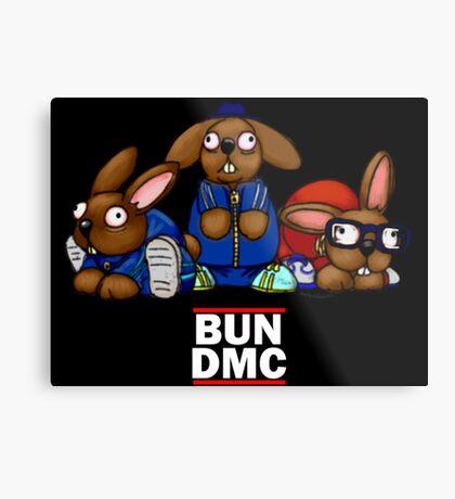 Bun DMC Metal Print