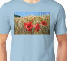 Poppies On The Field Unisex T-Shirt