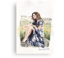 Sunshine Thoughts Canvas Print