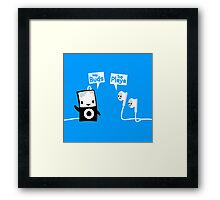 Sup Playa' Framed Print