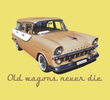 Old wagons never die (EK classic version) Baby Tee