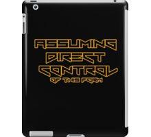 Assuming direct control iPad Case/Skin
