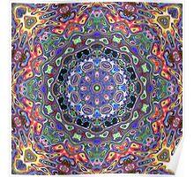 Colorful Mandala Abstract Poster