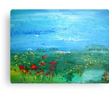 Meadow Pond Metal Print