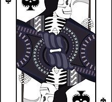 Grim Reaper Playing Card by allenamin