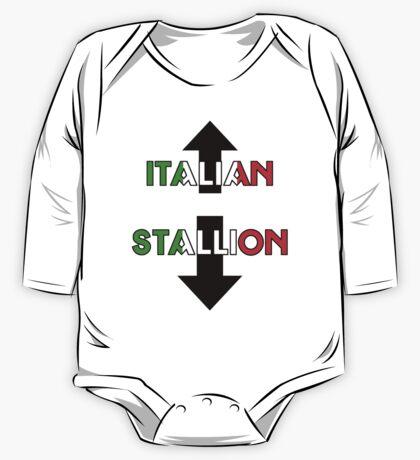 Italian Stallion One Piece - Long Sleeve