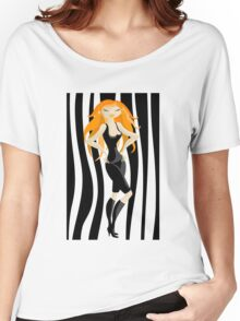 red-haired Women's Relaxed Fit T-Shirt
