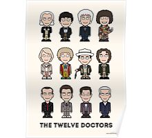 The Twelve Doctors (poster or print) Poster