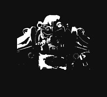 Fallout 4 Power Armour Cutout Unisex T-Shirt