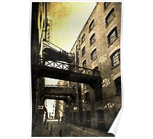 Butlers Wharf London Poster