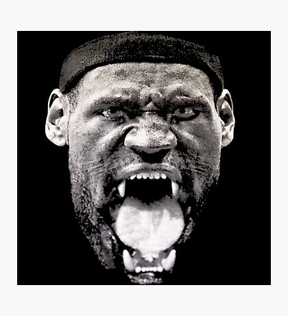 KING LEBRON JAMES NBA Photographic Print