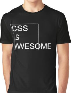 CSS Is Awesome [Dark Edition] Graphic T-Shirt