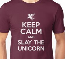 [ Keep Calm ] And Slay the Unicorn Unisex T-Shirt