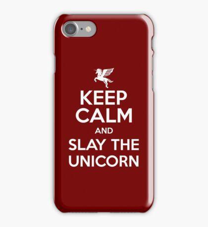[ Keep Calm ] And Slay the Unicorn iPhone Case/Skin