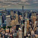 Manhattan Skyline 1 by Stuart Row