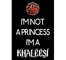 Khaleesi (dark) Photographic Print