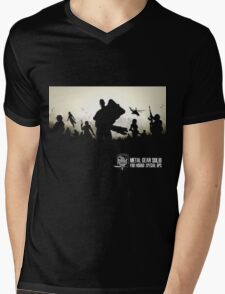 Metal Gear Solid Foxhound Mens V-Neck T-Shirt