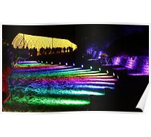 The Rainbow & The Tunnel Of Light Poster