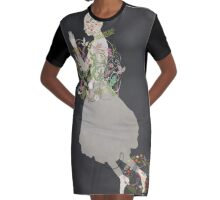 Song of the Stars Graphic T-Shirt Dress