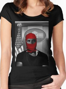 OBAMA X YEEZY Women's Fitted Scoop T-Shirt