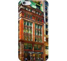 Manhattan Street Scene iPhone Case/Skin