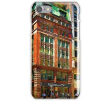 Manhattan Street Scene iPhone Case/Skin