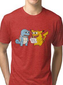 Feels good man. Tri-blend T-Shirt