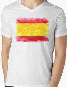 Spain Mens V-Neck T-Shirt