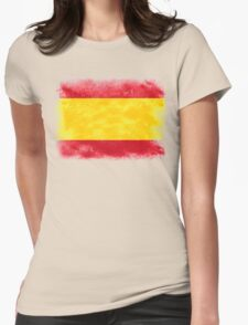 Spain Womens Fitted T-Shirt