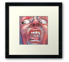 Crimson King Framed Print