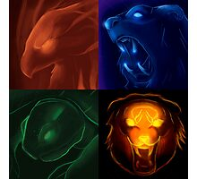 The four icons of Udyr Photographic Print