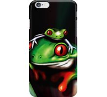 Red Eyed Tree Frogs iPhone Case/Skin